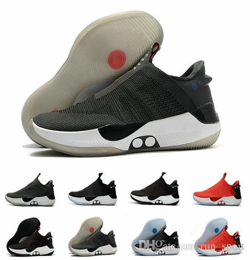 0871f31ee7 2019 nike Nuova versione Adatta per BB Black Red Hyper Scarpe da basket per  uomo di alta qualità Mag Comodo moda Sport Sneakers Taglia us 7-12