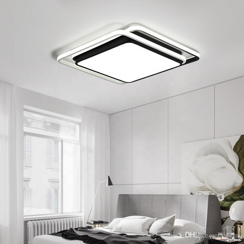 Creative living room bedroom light modern led ceiling light simple master  bedroom ceiling light