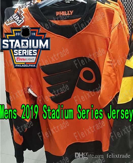 pretty nice 9cd88 60e8d 2019 Stadium Series Philadelphia Flyers Jersey Claude Giroux Brian Elliott  Sean Couturier Carter Hart Travis Konecny Wayne Simmonds Patrick