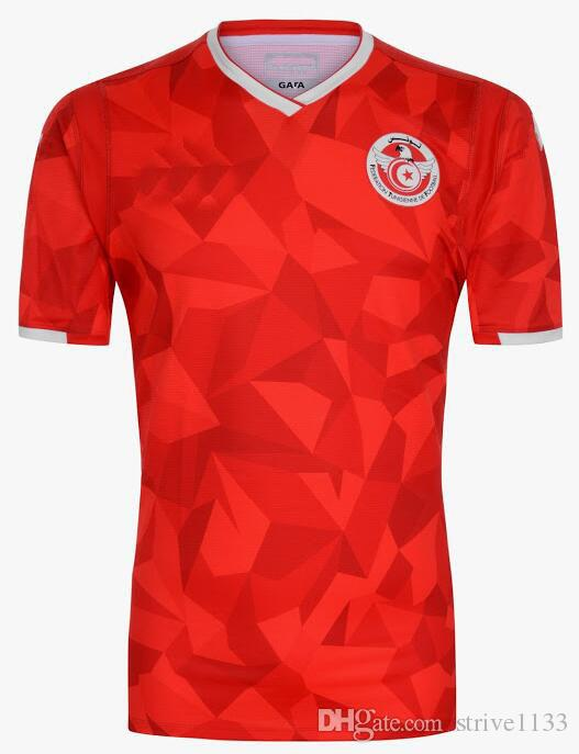 san francisco e9a71 039ac Free shipping best quality new 2019 Tunisia home 2019 2020 Tunisia soccer  jersey welcome to order