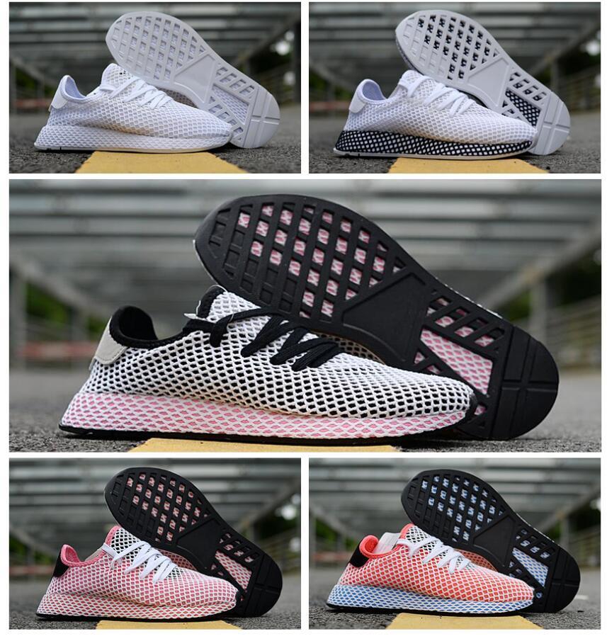 f5f94aad4 Compre 2018 DEERUPT Sapatos Casuais Pharrell Williams III Stan Smith Tênis  HU KPU Designer Malha Calçados Casuais Instrutores Chaussures 36 45 De  Salomon