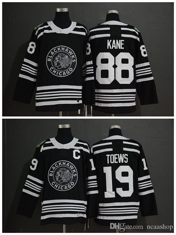 brand new 1aaa6 f9b5e 2019 Winter Classic NHL Chicago Blackhawks Jersey Youth 19 Jonathan Toews  88 Patrick Kane Kids Boys Authentic Stitched Ice Hockey Jerseys