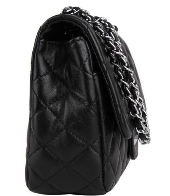 Designer Luxury Handbags Purses Black Real Oxidation Leather Fashion Real  Lamb Leather Bag Famous Bag Cheap Classic Chain Side Bag Womens Bags  Wholesale ... b10a05623212b