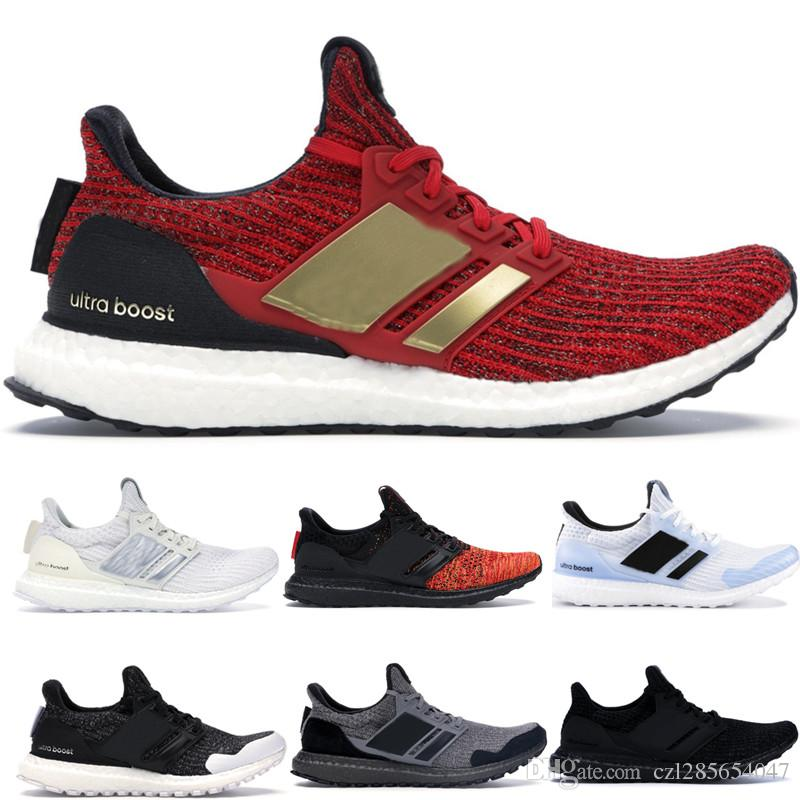 c187b3ac2 With Box 2019 Running Shoes Game Of Thrones Ultra Boost 4.0 Targaryen  Dragons UltraBoost UB 4.0 Triple White Black Sport Sneakers Trainers  Running Shoes For ...