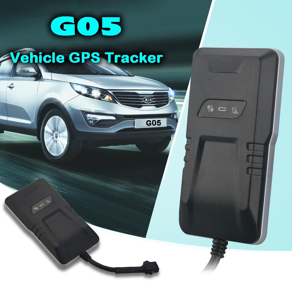 GPS Car Tracker G05 Real-time tracking GPS Locator Vibration/Speeding/Geo-fence/ACC ON alarm IP65 Waterproof resistance casing