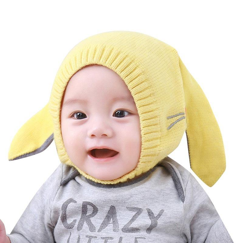 7dc6699bc44a33 Winter Hat For Girls Boys Winter Baby Hats Warm Baby Accessories Beanie Cap  Lovely Rabbit Ears Newborn Photography Props C Hats & Caps Cheap Hats & Caps  ...
