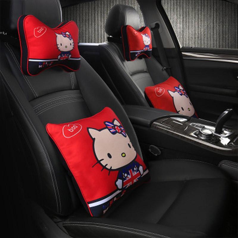 ebf90bfc4 Nterior Accessories Neck Pillow Cartoon Car Headrest Neck Pillow ...
