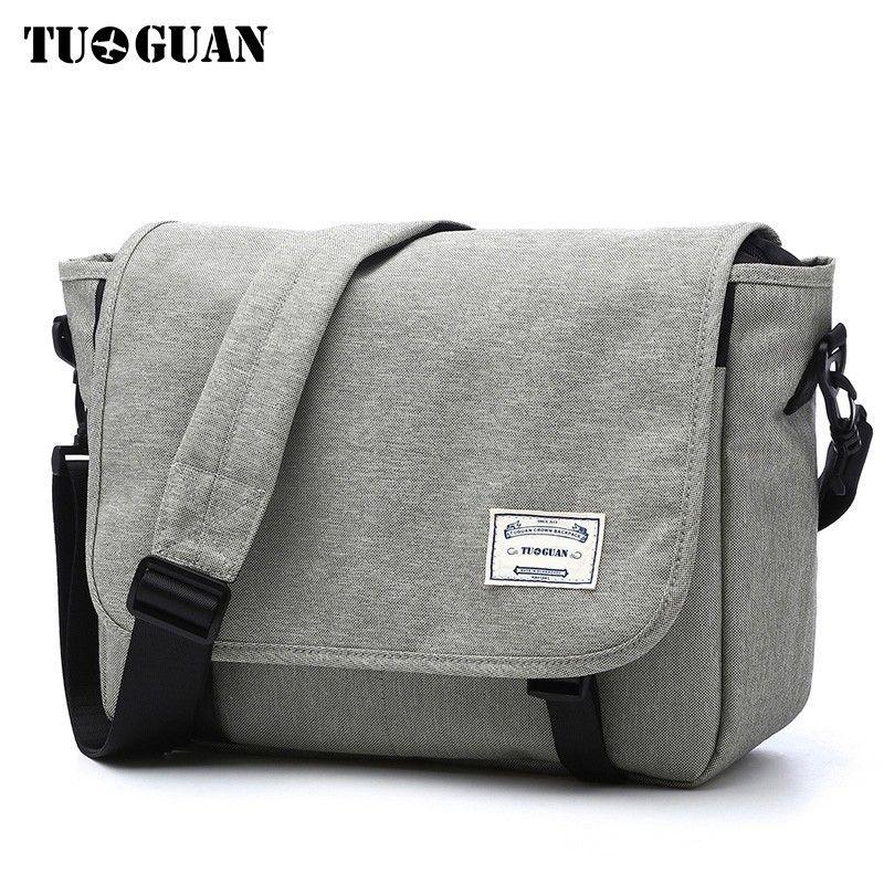 TUGUAN Men Messenger Bags Men s Fashion Business Travel Shoulder ... b760491cb96a5
