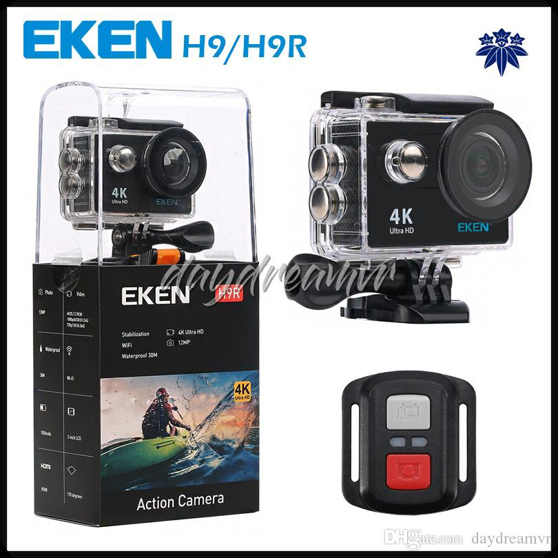 Original H9R 4K Action Camera 2 inch LCD screen Wifi waterproof Sports DV 1080P 60fps 170 degree wide Angle remote control convenient