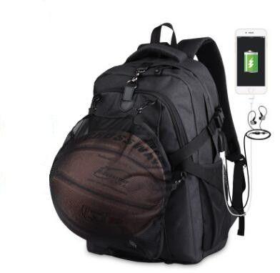Men S Sports Gym Bags Basketball Backpack School Bags For Teenager Boys  Soccer Ball Pack Laptop Bag Football Net Gym Bag Dakine Backpacks Back Pack  From ...