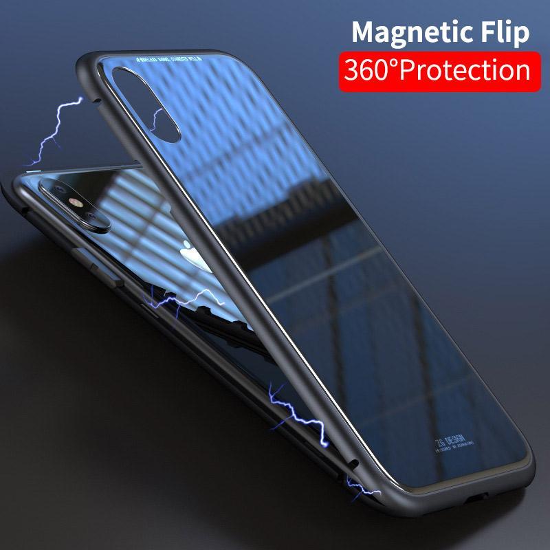 coque iphone x magnetique ultra slim