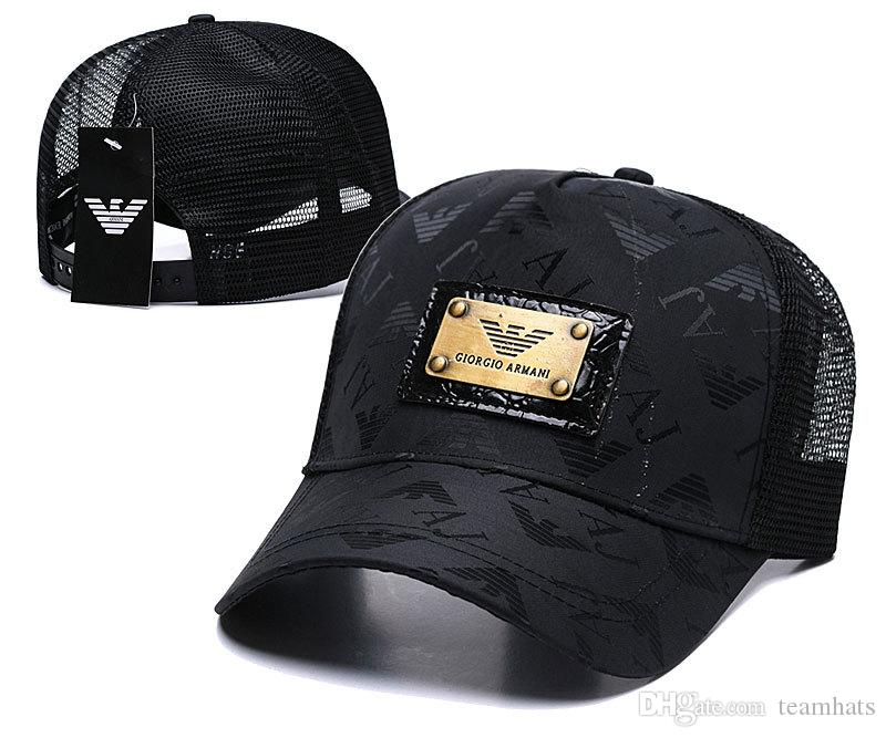 Compre Hot AX Ajustable Hombres Mujeres Malla De Verano Gorras Frescas Malla  De Moda Sombreros De Sol Diseño De Marca Sombrero De Béisbol Sombreros  Snapback ... e0ab6a23a74