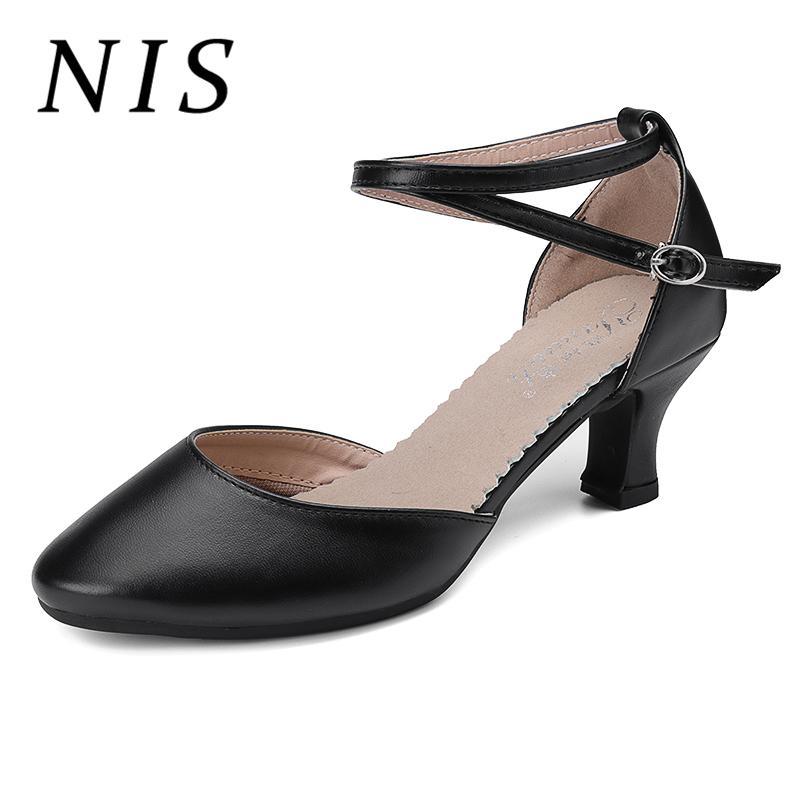 Talons Nis Taille Samba Escarpins Chaussures Nouveau Salsa Cheville Parti Aiguille Tango Grande Femme Latin Valse Danse De Habillées Salon vYg6ybf7