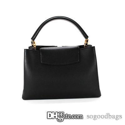 49bbfb6cf3 New Genuine Leather Luxury Handbags Women Bag Designer Brands Sale Famous  Large Shoulder Crossbody Bags Handbag Brands Cheap Bags From Sogoodbags