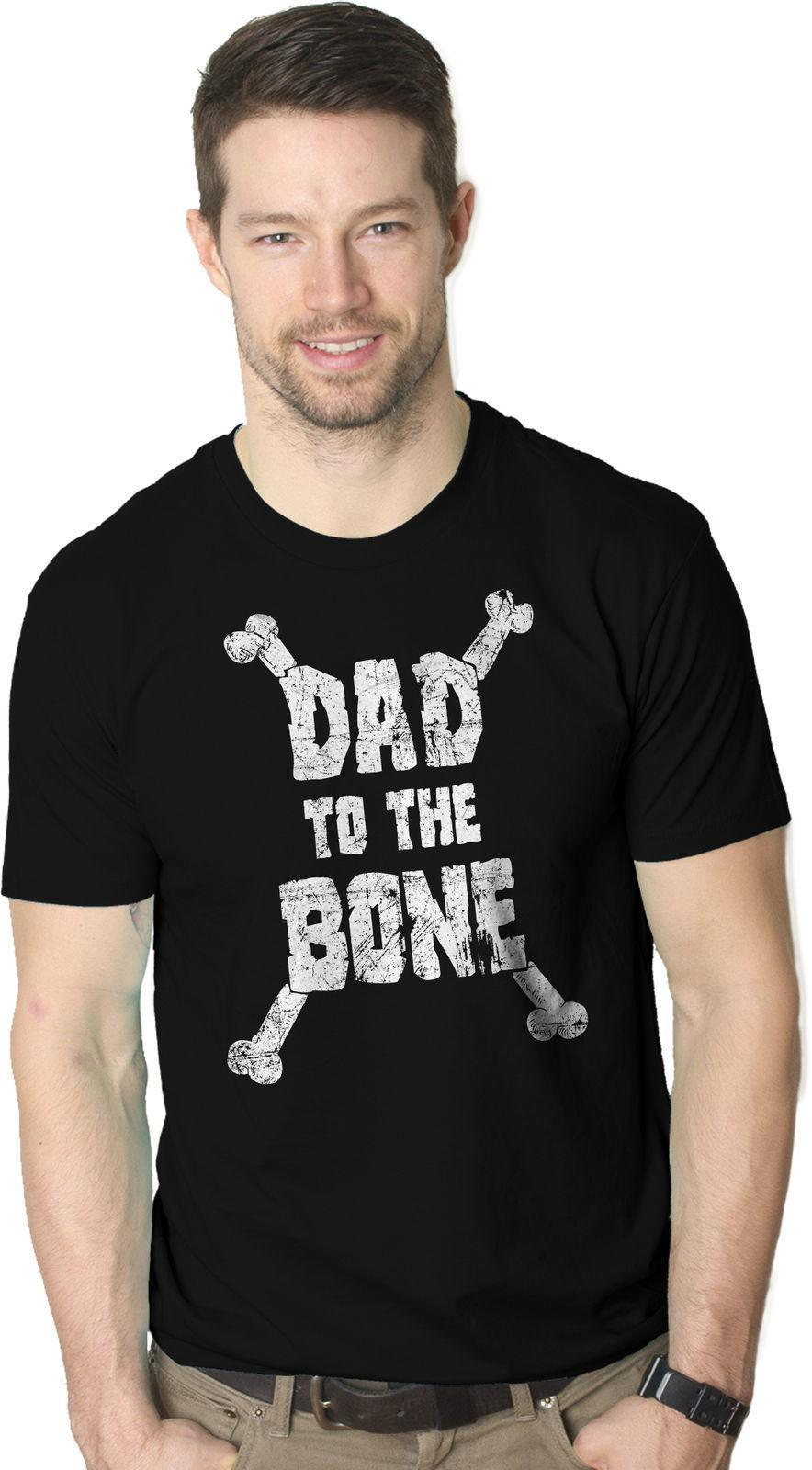 2262e8c9 Mens Dad To The Bone Funny Music Parody Fathers Day T Shirt Cool Gift Idea  Tees Designs Find A Shirt From Jie028, $14.67| DHgate.Com