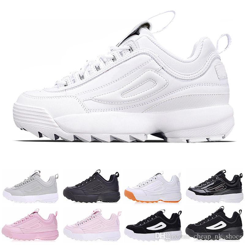 2019 New Disruptors Triple White Black Grey Pink Women Men Special Section Sports  Sneaker Increased Jogging Running Shoes Size 36 44 Shoe Shops Running Shoe  ... ab996b60d1f