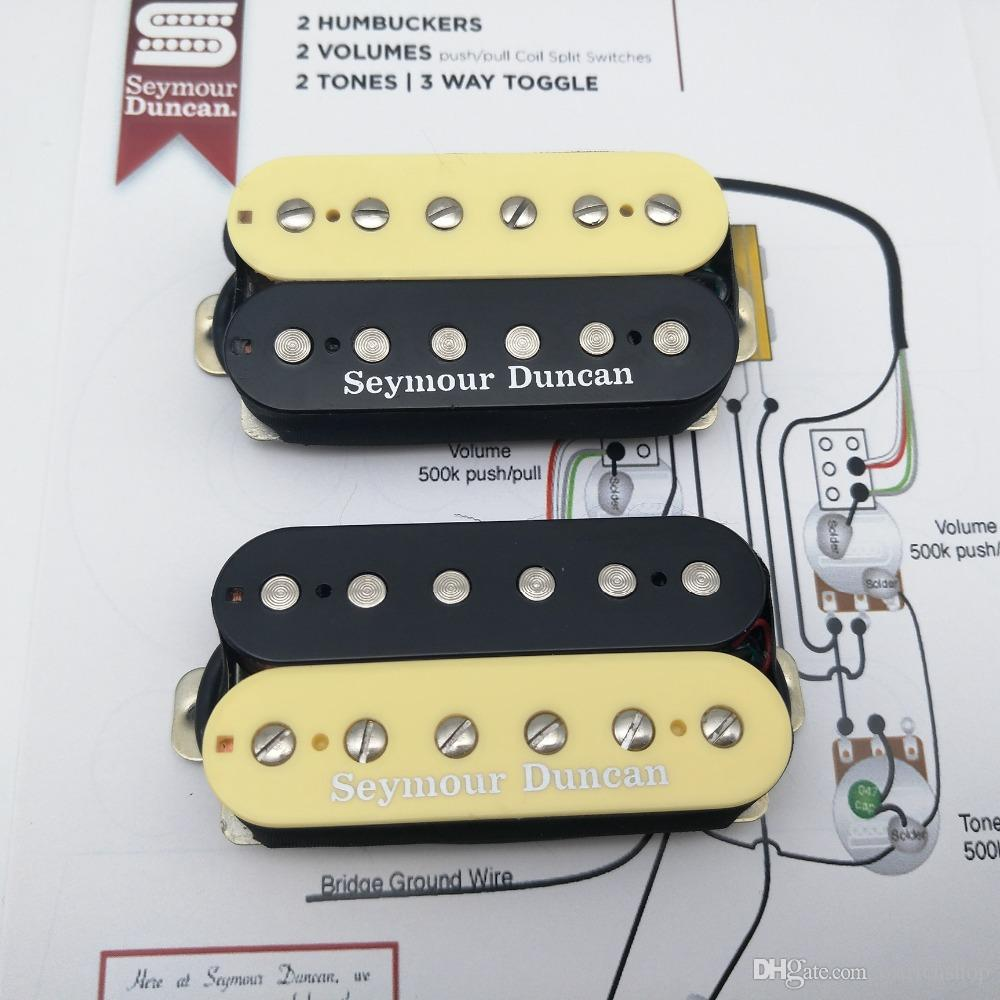 Humbuckers 3way Toggle Switch 2volumes 2 Tones Series Parallel