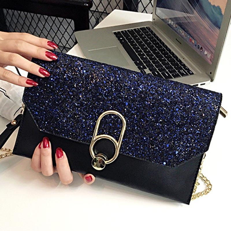 7d1db9a8beb Bags For Women 2019 Handbag PU Leather Sequin Fashion Luxury for ...