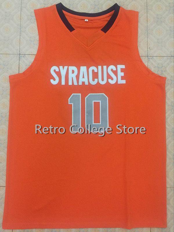 10 Trevor Cooney Syracuse Orange Basketball Jersey All Size