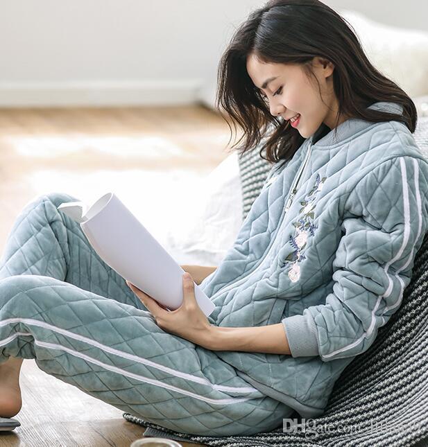 Veste pyjama coton femme
