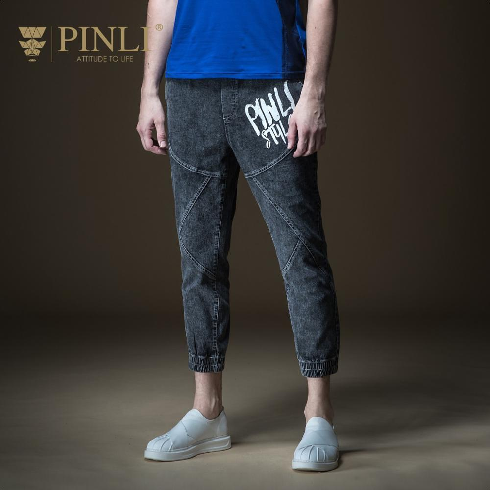 7be3ca34b 2019 2018 Sale Fake Designer Clothes Pinli Summer Hot New Men S Decorated  Body Printed Bottom Jeans Nine Minute Pants B192116359 From Shengui