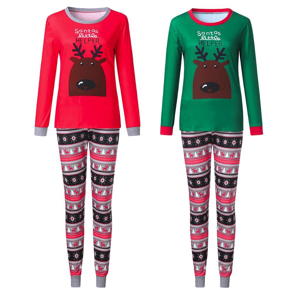 f75b8b34e 2019 Family Matching Christmas Pajamas Set Xmas Adult Men Women Sleepwear  Nightwear 2018 New Hot Sale Family Match Pjs Set From Shutie, $25.05 |  DHgate.Com