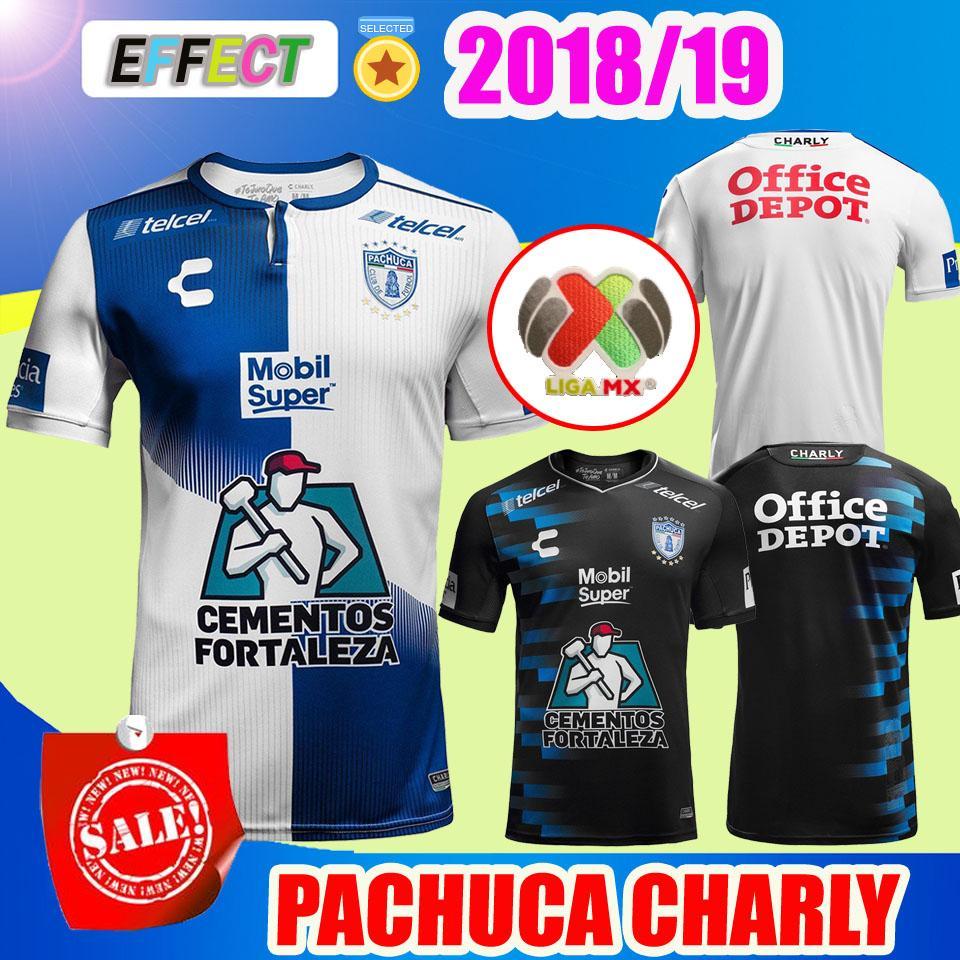 ba74cdb42de3d CALIDAD SUPERIOR 2018 CLUB DE MÉXICO PACHUCA JERSEY DE FÚTBOL 18 19 HOGAR  LEJOS MÁS GARCIA JARA 2019 PACHUCA Cuervos Camisetas De Fútbol Por  Firesport