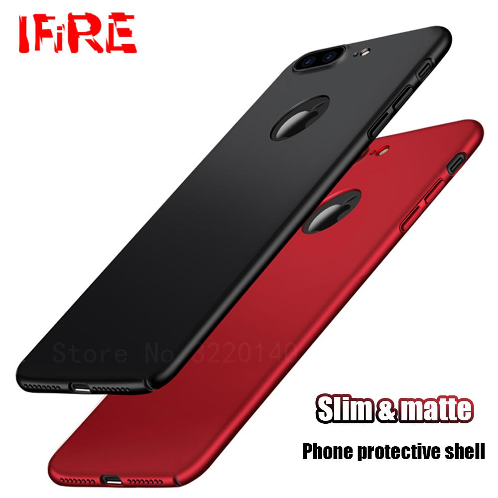Luxury Phone Cases For IPhone 7 7 Plus Ultra Thin Plastic Frosted Full Cover  For IPhone 6 6s Plus Case Hard PC Matte Back Shell High Quality Case for  Iph ... 0fd5ece0ca