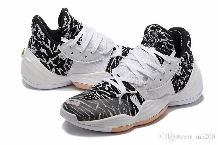 harden vol 4 Cookies Cream Basketball shoes sales store free shipping James Harden sports shoes wholesale With Box US7-US11.5
