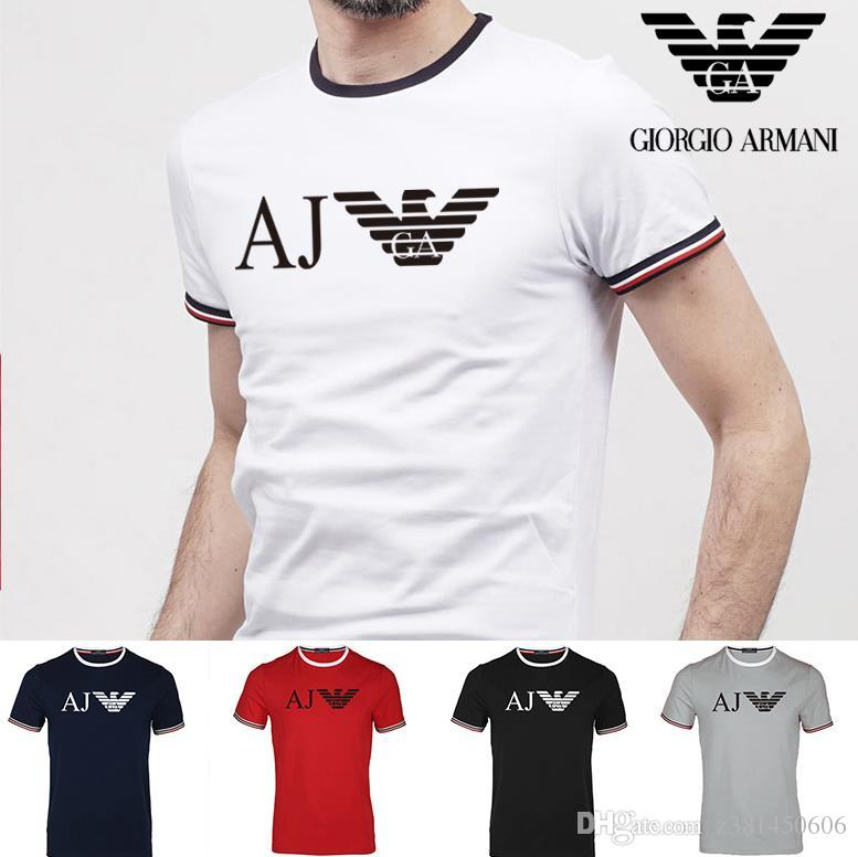 38cc85b94 2019 New Summer Cotton North T Shirts Luxury Brand Short Sleeves T ...