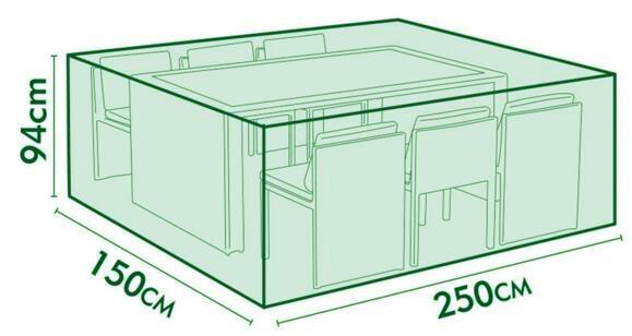 Livraison gratuite, ensemble table et chaises, housse de protection, housse  de salon de jardin, housse imperméable, mobilier d\'extérieur de couleur ...