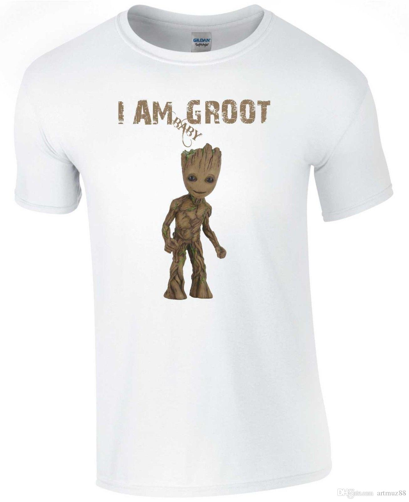 0b73458cd Baby Groot T Shirt Avengers Infinity War Fun 24 Hour Tee Shirts T Shirts T  Shirts From Artmuz88, $10.76| DHgate.Com
