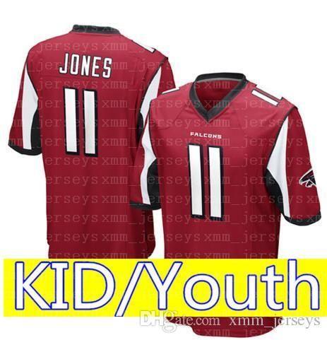 4ea8a638d83 2019 KID Atlanta Falcons 11 Julio Jones 2 Matt Ryan Jersey Youth 12 Tom  Brady KID 3 Russell Wilson Seattle Seahawks Football Jerseys From  Topmensjersey2018, ...