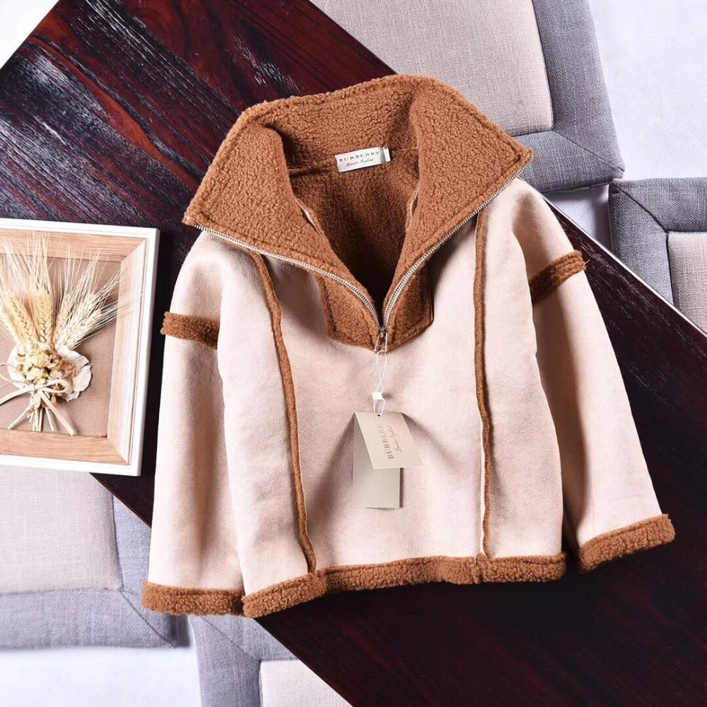 678d102a3c96 Fur One-piece Collar Fur Coat Looks like a Warm Coat. It is Very ...