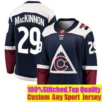 promo code 7022f 44743 2019 Nathan MacKinnon NHL Hockey Jerseys Erik Johnson Winter Classic Custom  Authentic ice hockey jersey All Stitched Branded baby youth man