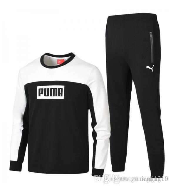 bfee0e05231a 2019 PUMA 2019 Wholesale Men S Designer Tracksuit Spring Autumn Casual  Unisex Brand Sportswear Track Suits High Quality Hoodies Mens Clot From  Wgling16