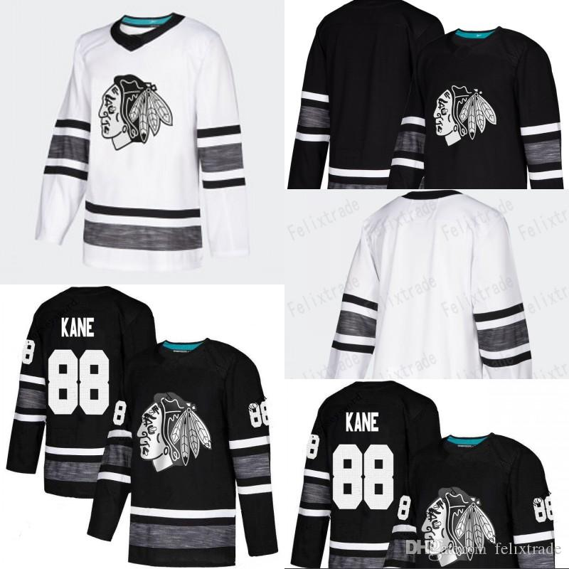 big sale a9cef ccba6 Chicago Blackhawks 2019 ALL STAR Jerseys Jonathan Toews Patrick Kane Alex  DeBrincat Duncan Keith Corey Crawford Brent Seabrook