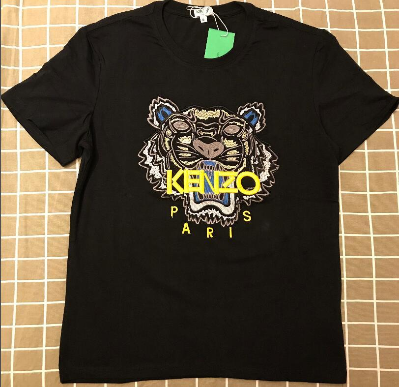 ed45e946fb1f 2019 Men's T-Shirts Cotton Justin Bieber Brand Kenzo T-shirt with ...