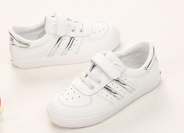 Jeunes Chaussures De Sport American Fermeture Velcro Chaussures Enfants Confortable Plat Sport Chaussure enfant