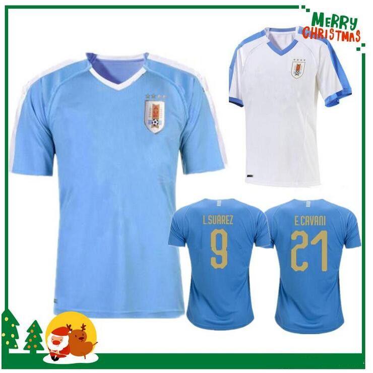 1492b7f507f 2019 2019 2020 Uruguay Copa America Soccer Jersey 19 20 Uruguay Home ...