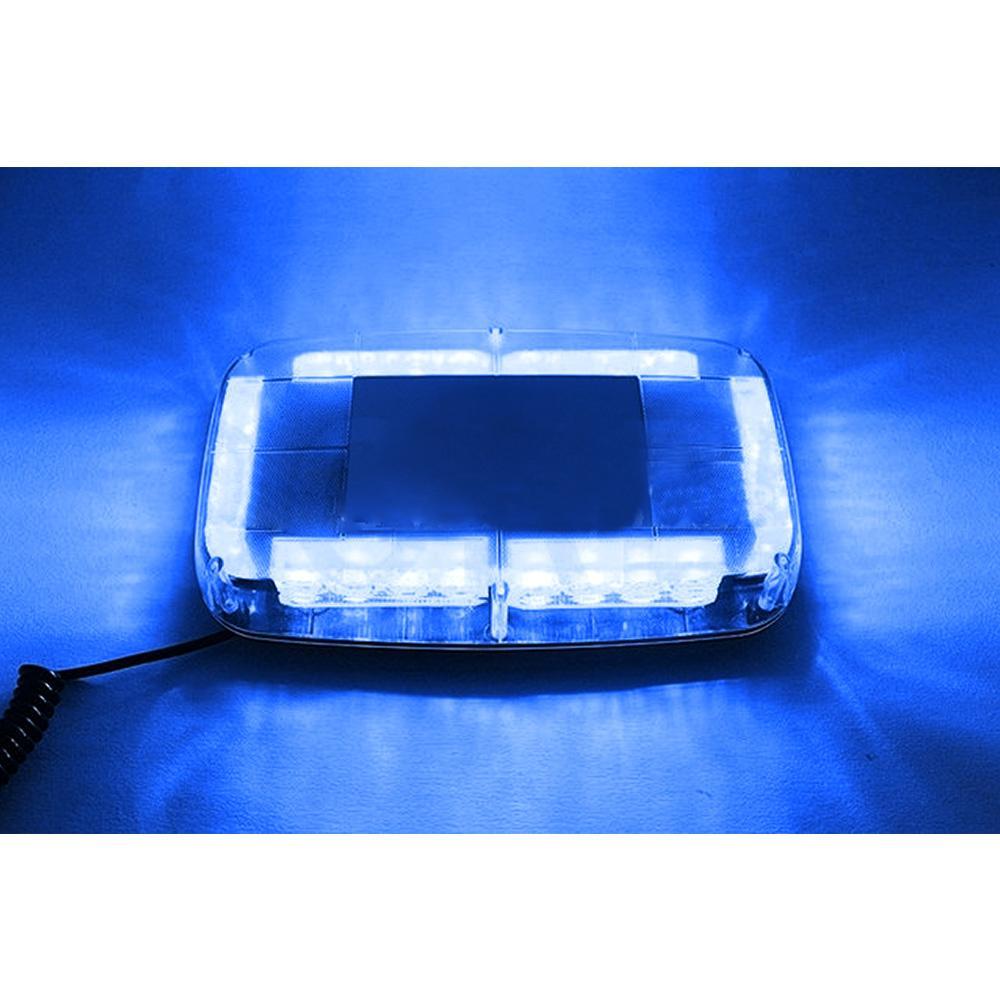 12v auto tetto della polizia Led luci stroboscopiche Bar Automobile emergenza avvertimento pompiere Flash Led lampeggiatore luci blu giallo rosso e blu