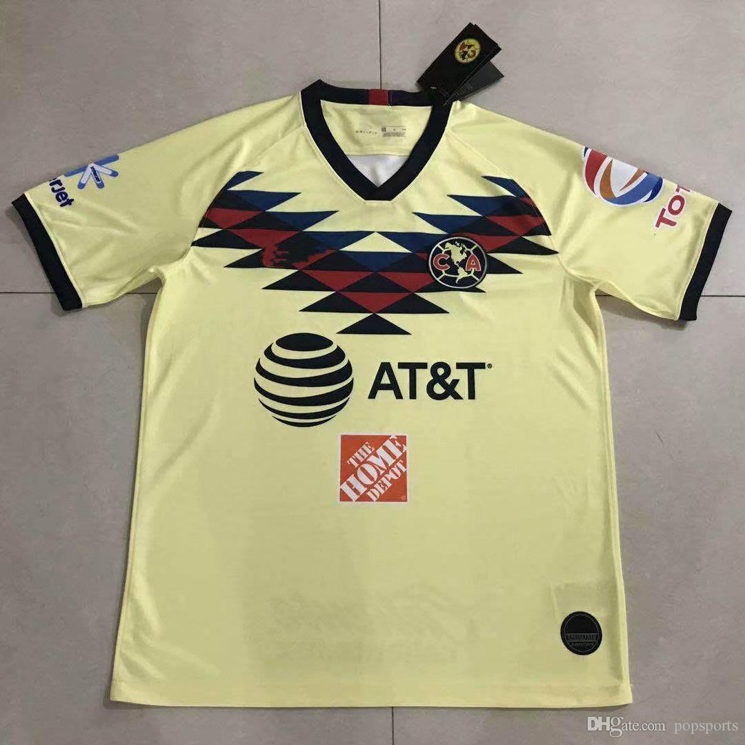 4791e0713c7 2019 2019 2020 Club America Soccer Jersey 19 20 Home Away Mexico League  O.PERALTA G.RODRIGUEZ MATEUS MARTINEZ Top Quality Football Shirt From  Popsports