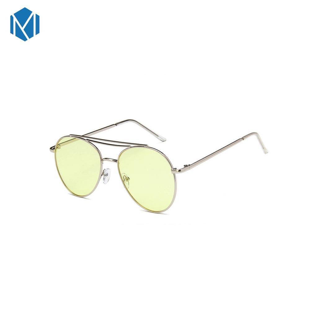 Compre MISM Gafas De Sol Redondas Unisex Para Mujer Gafas De Sol Con Montura  Metálica Hombre Lentes De Sol Hombre Gafas De Espejo Gafas De Sol A  37.2  Del ... d597ef2799e0