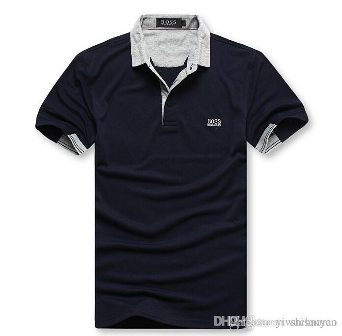 2ee3d7d6c71 Compre Venta Caliente 2019 Nuevo Polo Camisa De Los Hombres De Alta Calidad  De Cocodrilo Bordado LOGO Caballo Grande Tamaño M XXL Manga Corta De Verano  ...