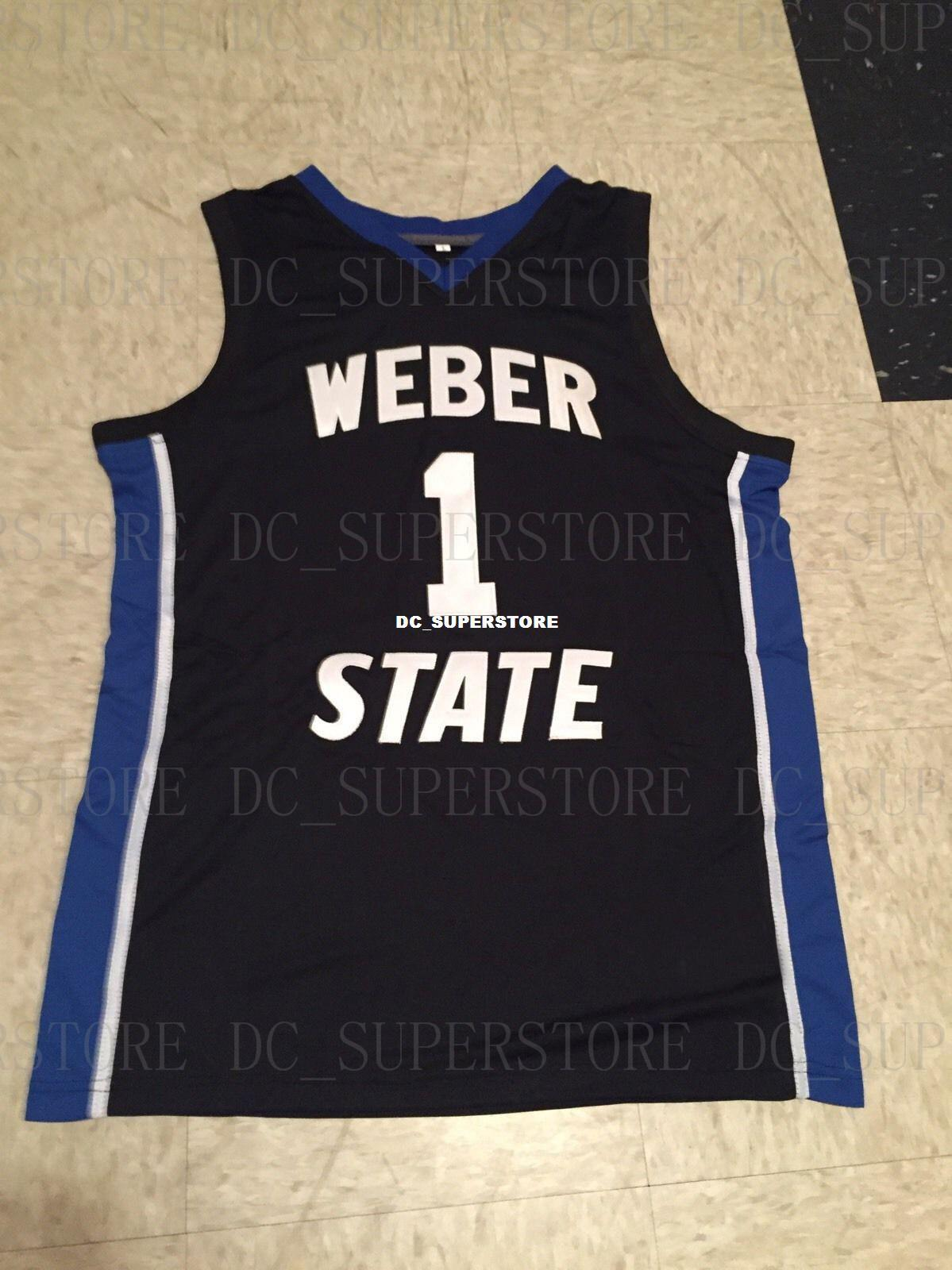 innovative design d18e7 43b5b Cheap custom Vintage Damian Lillard Weber State Wildcats NCAA Basketball  Jersey Stitch customize any number name MEN WOMEN YOUTH XS-5XL