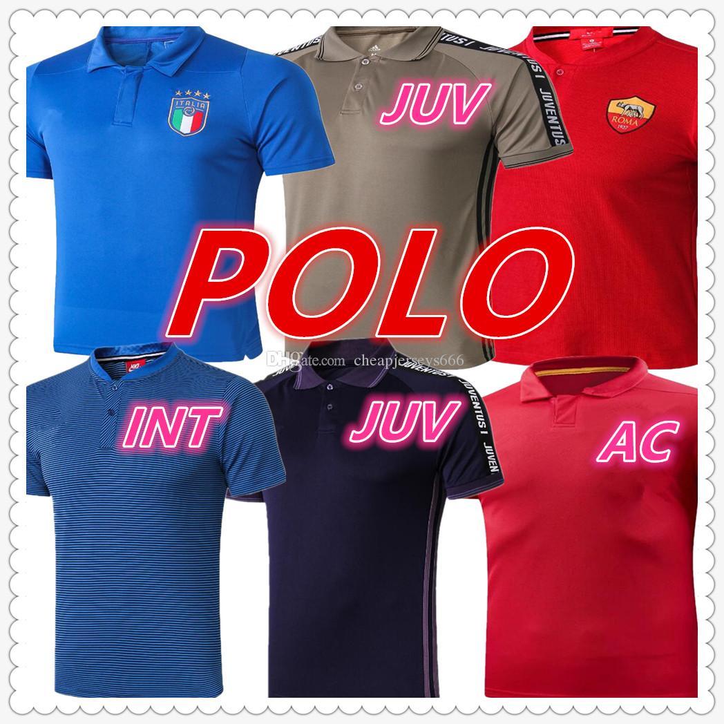 release date: 85294 4b121 italy roma mens designer polo shirts soccer jersey 2019 2020 ronaldo ICARD  HIGUAIN shirt maillot de foot football jerseys camisa de fútbol