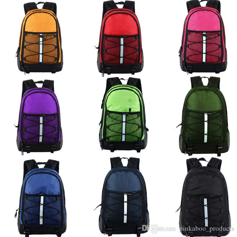 9 Colors The Nylon Backpacks North Shoulder Bags Face Travel Sports Duffle Students Back Pack Schoolbag Large Capacity Knapsack Totes C72502