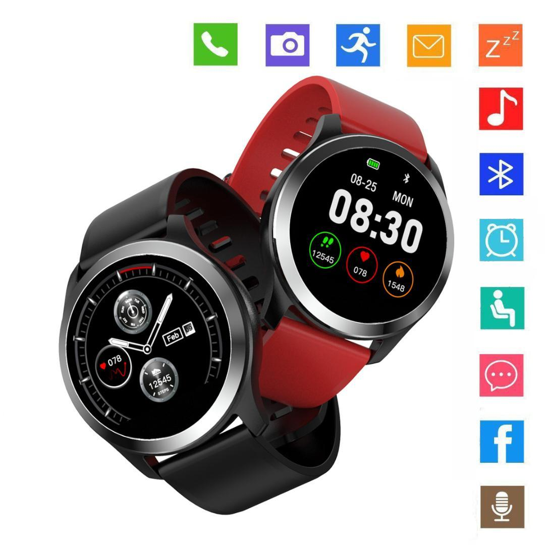2019 NEW Smart Watch for Men ECG Blood Pressure Heart Rate Detection  Business Watches IP67 Waterproof Bluetooth Smart Wristwatch