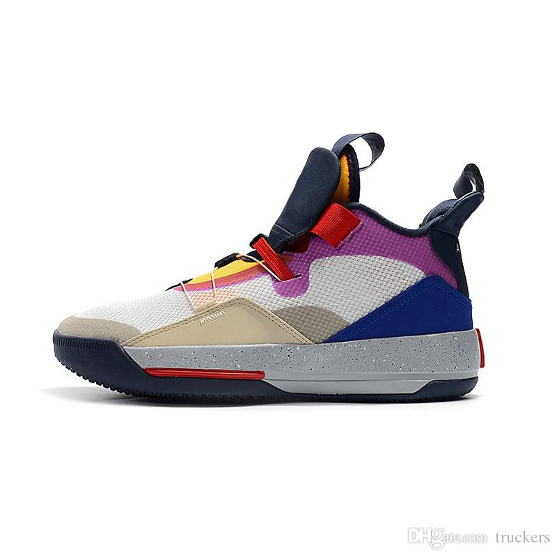 buy popular 31b75 2731e 2019 Visible Utility Mens Basketball Shoes 33 Prepare To Fly Sneakers Tech  Pack Retro Future Flight Sports Boots 33s XXXIII Jade Trainers Shoes Jordans  ...