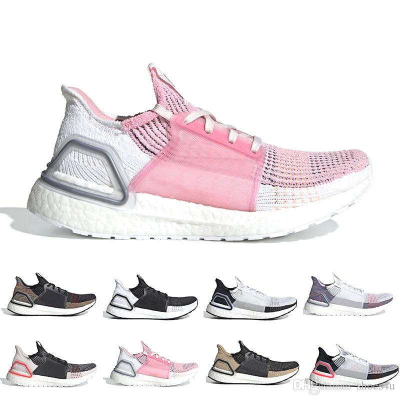 732f1f16057f4 Cheap Ultra Boost Cloud White Black Oreo Boost Mens Running Shoes Dark  Pixel Refract Clear Brown Primeknit Sports Trainers Men Women Sneaker  Running Clothes ...